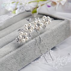 1 Piece Bridal Wedding Imitated Pearl Crystal Flower Hair Pins Elegant Headpiece Bridesmaid Bridal Veil Jewelry Hair Accessories-in Hair Jewelry from Jewelry & Accessories on Aliexpress.com | Alibaba Group