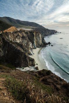 Coyote Atelier photography love: Big Sur Coast by Michael Hitchner. Near Bixby Creek Bridge in Big Sur on the California coast.