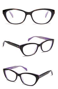 Cosima Niehaus's glasses from Orphan Black - 'Sylvie' in Black Menagerie Orchid (SALT. Optics).