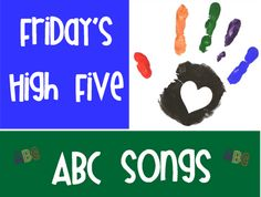 ABC Songs...these would be great to play during transitions to carpet each day