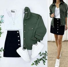 Casual Outfits For Teens, Cute Comfy Outfits, Stylish Outfits, Girls Fashion Clothes, Teen Fashion Outfits, Mode Outfits, Look Cool, Everyday Outfits, Aesthetic Clothes