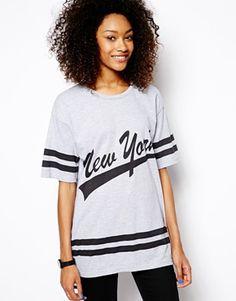 Daisy+Street+Oversized+Varsity+T-Shirt