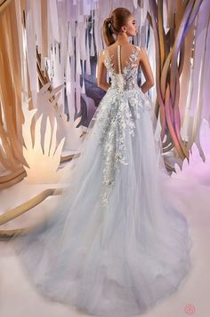 Blue wedding dress with lace. Romantic wedding dress wedding dress Dusty blue wedding flower dress with princess any sizes PLUS SIZE Light Blue Wedding Dress, Blue Wedding Gowns, Wedding Dresses With Flowers, Blue Bridal, Princess Wedding Dresses, Bridal Dresses, Bridesmaid Dresses, Unique Wedding Gowns, Wedding Ideas