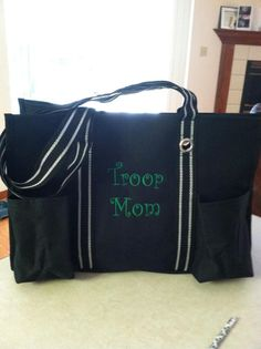 Girl scout troop mom gift. :)  www.mythirtyone.com/toteswithrach