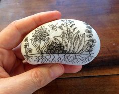Painted Pebble by MagaMerlina