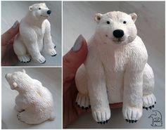 White bear by RustleZver.deviantart.com on @deviantART