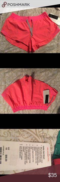 Lululemon active Hotty Hot Shorts Brand new Neon pink Lululemon active shorts. lululemon athletica Shorts