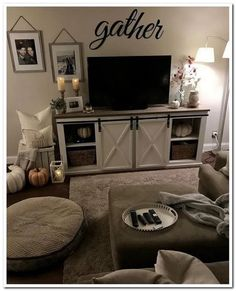 Relaxing Diy Halloween Living Room Decoration Ideas To Try - diy family room ideas,diy family room makeover,diy family room Living Room Decor Cozy, Living Room Interior, Home Living Room, Apartment Living, Living Room Designs, Cozy Apartment, Living Room Ideas For Small Spaces, Tv Stand Ideas For Living Room, How Decorate Living Room