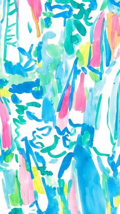 Beach and Bae - Lilly Pulitzer Lilly Pulitzer Patterns, Lilly Pulitzer Prints, Lilly Pulitzer Iphone Wallpaper, Pretty Wallpapers, Wallpaper Backgrounds, Illustration, Preppy, Church Logo, Graphics