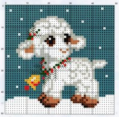 (5) Gallery.ru / Фото #59 - 2008-12 - Chispitas Xmas Cross Stitch, Cross Stitch Baby, Cross Stitch Animals, Cross Stitch Flowers, Cross Stitch Charts, Cross Stitch Designs, Cross Stitch Patterns, Cat Cross Stitches, Cross Stitching