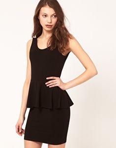 ASOS Dress With Peplum