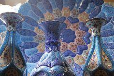 Isfahan Emam Square - ceramics. Iran 2009