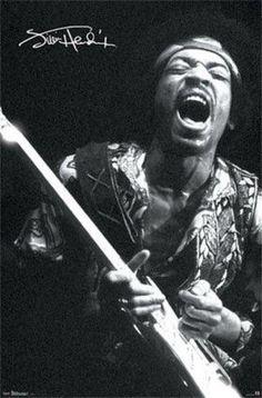 Jimi Hendrix - Ziggy enjoying the moment