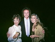 Gloria Monty, Tony Geary, and Genie Francis Tony Geary, Laura Spencer, Genie Francis, Luke And Laura, 70s Tv Shows, Secrets And Lies, Best Soap, Bold And The Beautiful, General Hospital