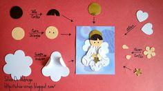 Silvia Scrap: Mini tutorial de Angelito con Punch Art