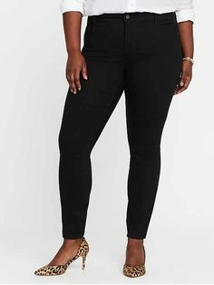 91065a8dca34c Mid-Rise Plus-Size Super Skinny Ankle Jeans