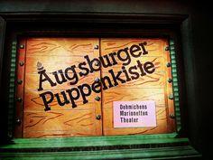 Augsburger Puppenkiste in Augsburg, Bayern #augsburg #puppenkiste #drg