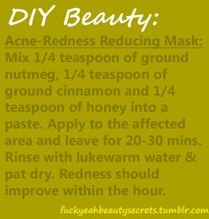 Acne-Redness Reducing Mask
