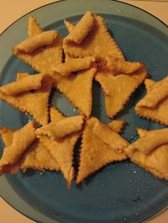 Fattigmands. Norwegian Christmas cookies.
