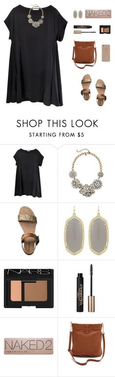"""Church today! ❤️"" by psherminwallabieway ❤ liked on Polyvore featuring J.Crew, Mossimo, Kendra Scott, NARS Cosmetics, L'Oréal Paris, Urban Decay, Tory Burch and Agent 18"