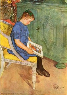 Carl Larsson (1853 – 1919, Swedish) re-pinned by: http://sunnydaypublishing.com/books/