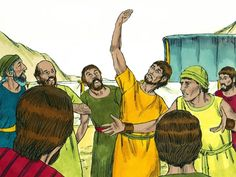 free Bible activities for Toddlers-Joshua and Caleb - Saferbrowser Image Search Results Preschool Bible, Bible Activities, Toddler Activities, Bible Crafts, Bible Art, Joshua And Caleb, The Bible Movie, Bible Pictures
