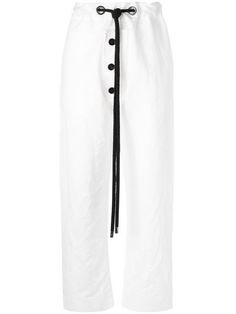 MARNI Drawstring Trousers. #marni #cloth #trousers