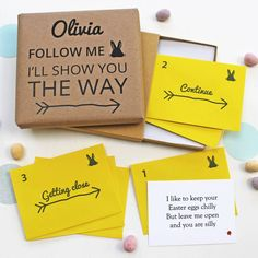 Make Easter that extra bit special with this fun personalised Easter treasure hunt.