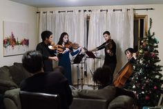 Classical and cozy: bringing concerts into your living room