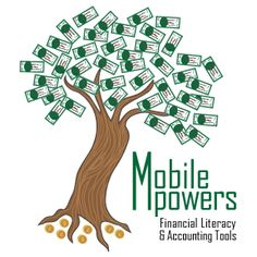 First Sparked project - logo for Mobile Mpowers  I like how it came out but think my tree is a little too uniform in thickness