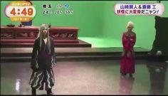 "[Making clip, Kento's dancing lol] https://twitter.com/yk_bigluvvv/status/783568034791235584 Kento Yamazaki x Takumi Saitoh, J LA movie ""Yo-kai Watch, Dec/17/2016 out"