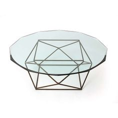 Geometric Low Table..i have become obsessed with anything geometric