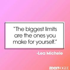 Quote | Lea Michele