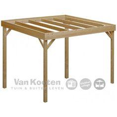Pergola geschikt voor overkapping Wood Arbor, Outdoor Furniture, Outdoor Decor, Ottoman, Arbors, Pergola, House, Home Decor, Ideas