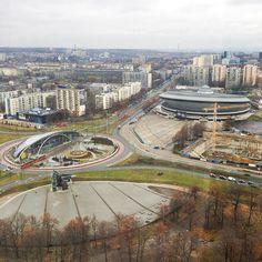 Taki malutki #spodek #katowice #city