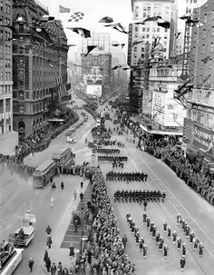 Happy 388th birthday, Broadway! Photo: A 1926 parade celebrating the 300th anniversary of the famous street. (Credit: The New York Times Photo Archives)
