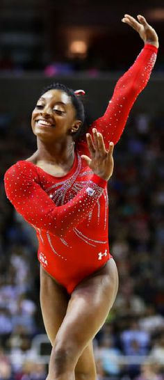Simone Biles - Gold Medalist in Gymnastics at the 2016 Rio Summer Olympics | Getty Images
