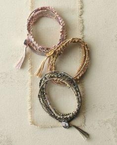 Chan Luu Nugget Friendship Wrap Bracelet