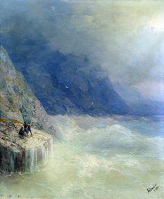 Rocks in the Mist - Ivan Aivazovsky  1899