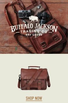 Men's vintage full grain brown leather bags. Handcrafted to handle whatever - work, travel, or adventure. Messenger bags, briefcase bags, duffle bags, camera bags, and dopp kits. Rugged fashion and real craftsmanship for the win. Great gift ideas for men who appreciate quality and style. Leather Camera Bag, Men's Leather, Leather Satchel, Brown Leather, Duffle Bags, Messenger Bags, Rugged Fashion, Casual Professional, Waxed Canvas Bag