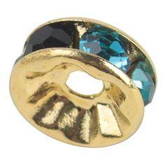 niceeshop(TM) 1 Sack (100Pcs) Kristall Goldplattierung Rand Farbenreich Perle 8mm-Farbenreich - http://schmuckhaus.online/niceeshop/farbenreich-8mm-niceeshop-tm-1-sack-100pcs-rand