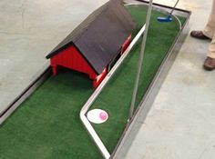 portable mini miniature golf party rentals michigan 15
