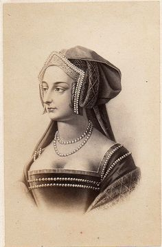 ❤ - Anne Boleyn, 19th Century Etching. One of the greatest women there ever was