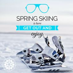 Have you gone spring skiing? Check out our Go Skiing   Go Snowboarding and get out there and enjoy! #spring #ski #snowboard #Canada