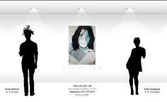 Andy Warhol Mick Jagger 138