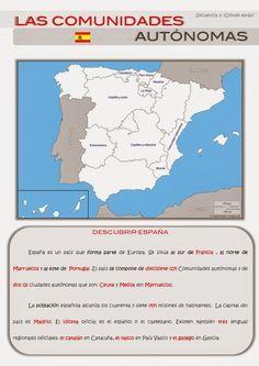 CLASE DE ESPAÑOL : las comunidades autonomas #learn #spanish #kids