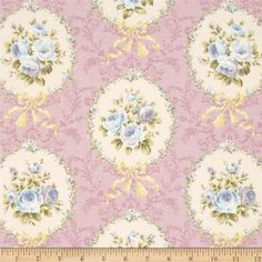 Lecien Rococo Sweet Flower Medallion Lavender from @fabricdotcom Designed for Lecien, this cotton print fabric is perfect for quilting, apparel and home decor accents. Colors include lavender, cream and shades of yellow, green and blue.