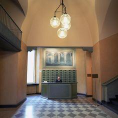 Caccia Dominioni, Via Verdi, Milan (Azucena's Boccia lamps)