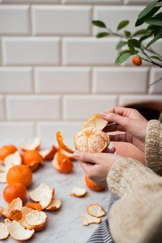 Wilgotne ciasto z gotowanymi mandarynkami i ricottą #upsidedowncake // Moist cake with boiled mandarins and ricotta #upsidedowncake