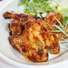 Chicken wings in spicy marinade (recipe on Croatian with translator)